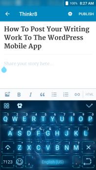 wp mobile app