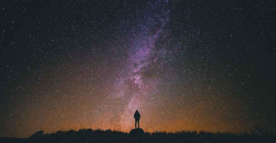 milkyway/galaxy/person/night